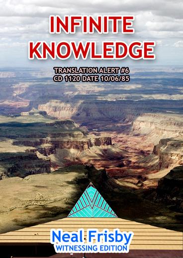 INFINITE KNOWLEDGE: FORESIGHT.